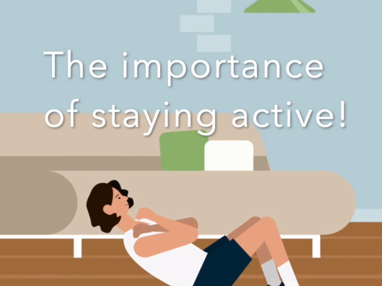 Importance of Staying Active image