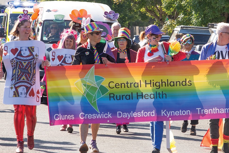 Central Highlands Rural Health at ChillOut Festival 2020
